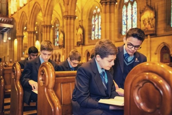 St Marys Cathedral College Sydney Religious Life